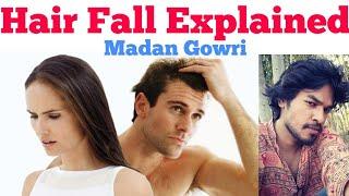 Hair Fall 🙇 Explained   Tamil   Madan Gowri   MG