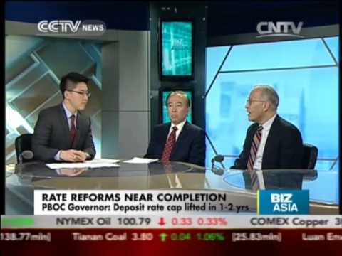 Studio interview - Rate reforms in China