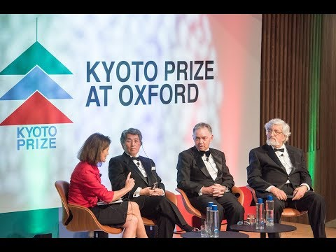 Kyoto Prize at Oxford 2018 highlights