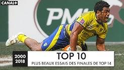 Les plus beaux essais des finales de TOP 14 (depuis 2000)