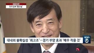 한국 경제 '매우 나쁨'…기준금리 '최저' · IMF …