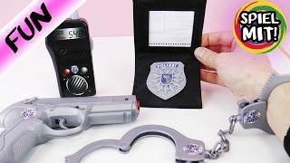 KAAN WIRD VERHAFTET!? Polizei Ausrüstung mit Handschellen und Pistole! Simba Deutsch - Spiel mit mir