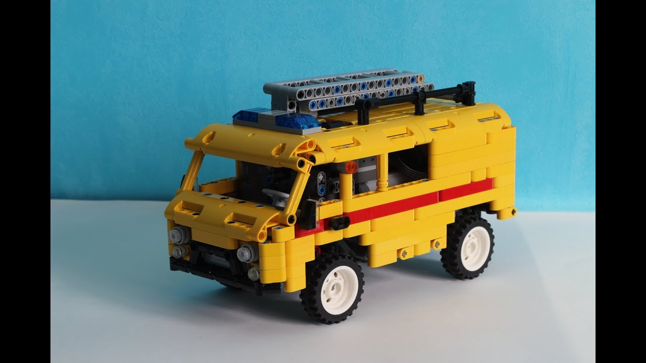 lego truck gas technic service uaz