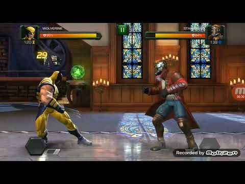 STAR-LORD vs WOLVERING fight sense animation...contest of champion match