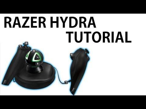 Razer Hydra Tutorial