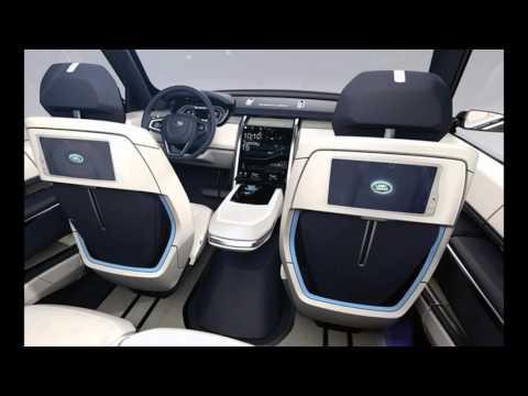 Land Rover Defender 2017 interior