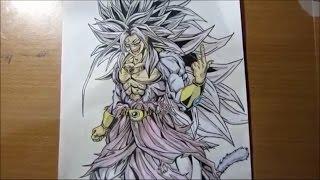 Speed Drawing Goku SS5 -People Cool