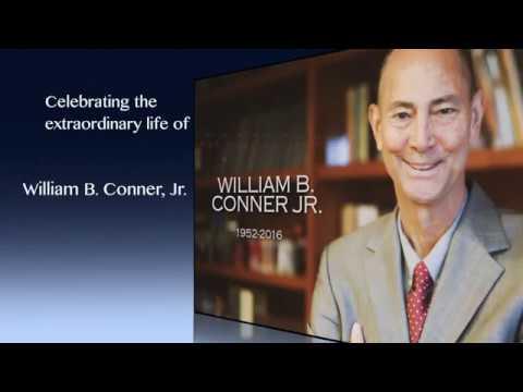William B  Conner, Jr.  Public Memorial Service