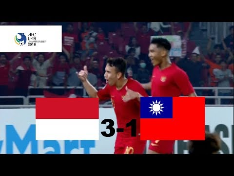 Image of Indonesia U-19 vs Chinese Taipei U-19