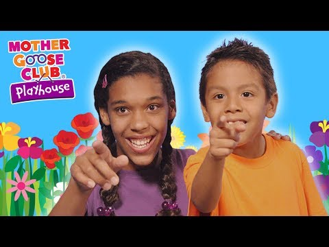 So Many Colors   Learn Colors with Flowers   Mother Goose Club Playhouse Kids Video