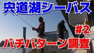 シーズンイン直前!宍道湖シーバス バチパターン調査#2