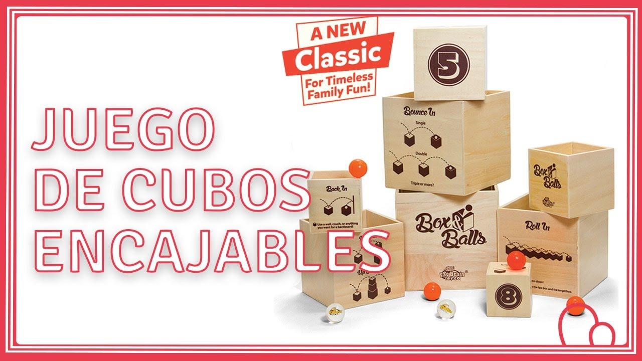 Boxamp; Juego De Balls Goma Encajables Cubos Y Pelotas bfy76IYgvm