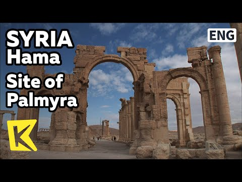【K】Syria Travel-Homs[시리아 여행-홈스]사막의 궁전, 팔미라 유적/Site of Palmyra/Ruins/Desert/Palace/Oasis/Temple