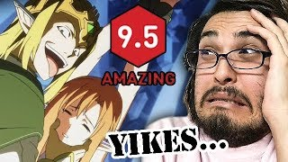 Cringing to my old, horrible anime reviews...