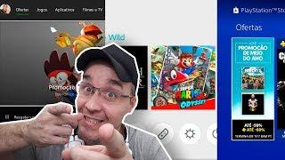 😍 NOVIDADES PS4, NINTENDO SWITCH e XBOX ONE !