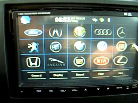 autoradio fiat stilo gps digitale terrestre dvd ecc youtube. Black Bedroom Furniture Sets. Home Design Ideas