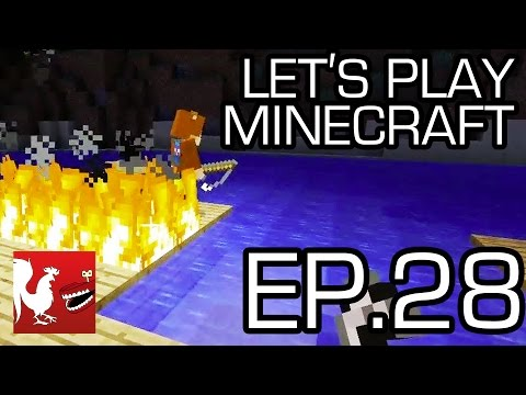 Let's Play Minecraft - Episode 28 - Fishing Rodeo & Jamboree | Rooster Teeth