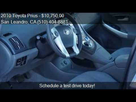 2010 Toyota Prius Ii Hatchback 4d For Sale In San Leandro C Youtube