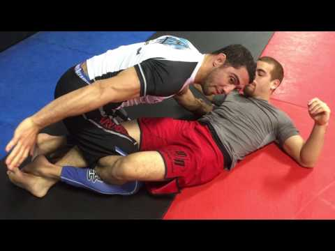 How To Easily  Break The Lock Down Half Guard