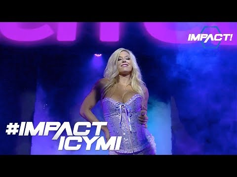 Taryn Terrell Has Returned to GFW IMPACT | #IMPACTICYMI August 24th, 2017