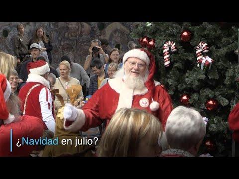 ¿Navidad en julio?