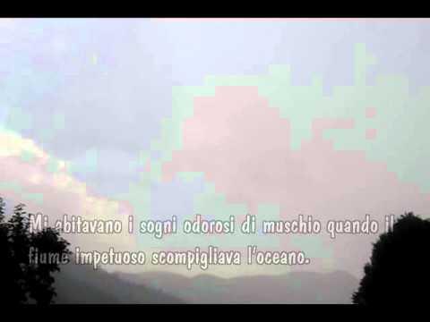 Ascoltavo La Pioggia Poesia Di Alda Merini Youtube