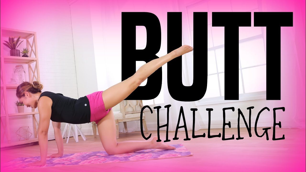 81768f2349 Rainbow Butt Song Challenge! Quick Booty Lift Workout! - YouTube