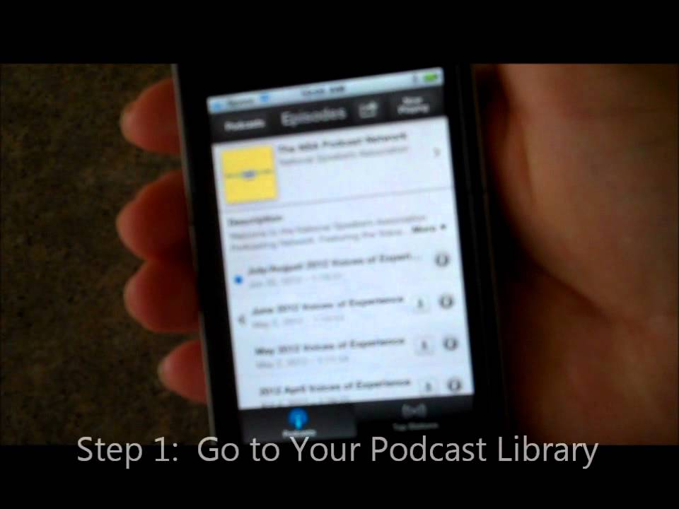 how to delete podcasts from iphone how to delete a podcast from your iphone 8406