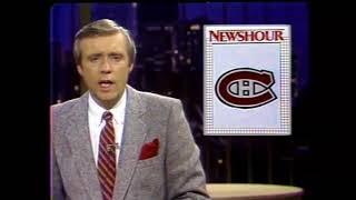 CBC NEWSHOUR hockey highlights 1982