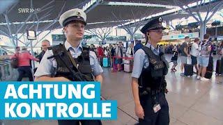 Einsatz der Bundespolizei auf dem Flughafen Stuttgart