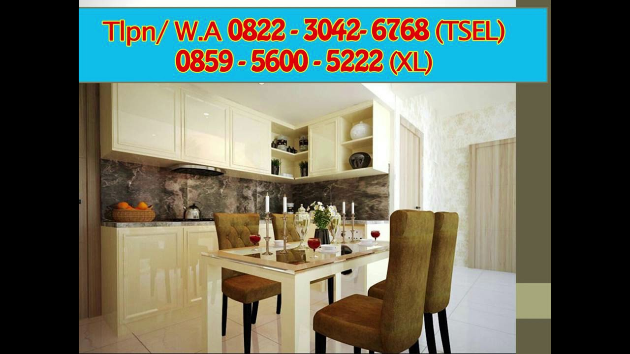 0822 3042 6768 Tsel Kitchen Set Aluminium Minimalis Sederhana Youtube