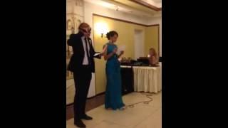 Свидетель и Свидетельница на свадьбе поют!!