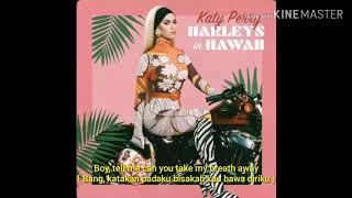 Lirik Lagu Katy Perry - Harleys in Hawaii Terjemahan