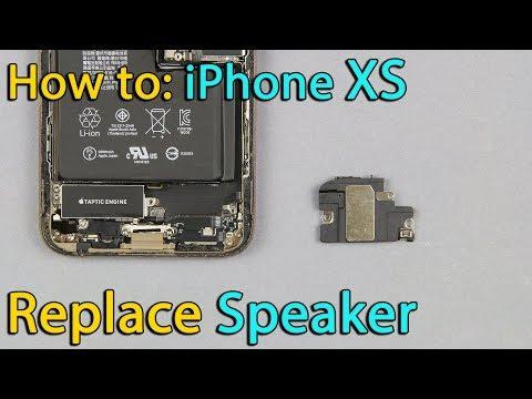 iPhone XS speaker replacement