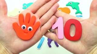 Большой урок Учим цифры обучающее видео для малышей