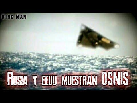 Rusia y EEUU muestran encuentros entre ovnis con submarinos en el mar