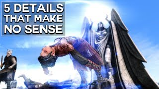 Skyrim - 5 Hidden Details That Make No Sense