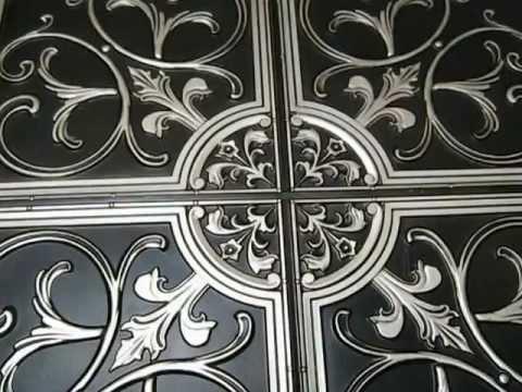 ceiling design faux antique silver ceiling tiles drop in glue up - Antique Ceiling Tiles