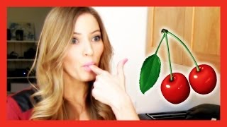 How To Make A Delicious Cherry Pie | Ijustine Cooking