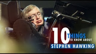 Stephen Hawking dies: 10 things you probably didn't know about the physicist