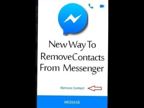 how to delete messenger video