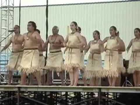 Traditional dance of Fiji