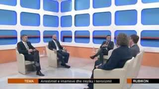 Gëzim Kelmendi - Debati në Rubikon (Arrestimi i Imamëve)