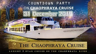 Celebrate New Year Party Dinner Cruise Chao Phraya Cruise Bangkok Thailand