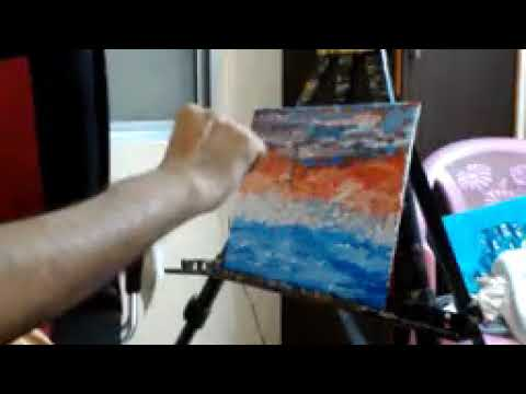 Lighthouse Painting Art Modern Demo