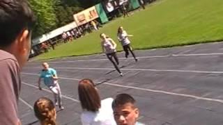 Біг 100 м. дівчата