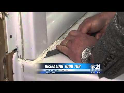 Delicieux Readying To Reseal A Bathtub