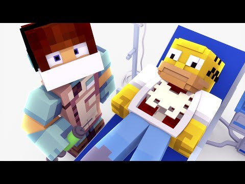 Minecraft: CIRURGIA NO SIMPSONS !! - ( Minecraft Cirurgia )