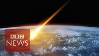 Watching the skies for asteroids that could threaten Earth - BBC News
