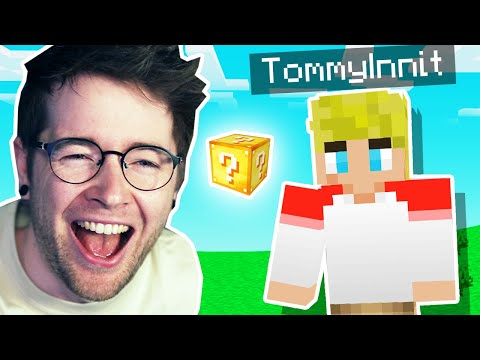 TommyInnit makes Minecraft 100000% Funnier.. - DanTDM
